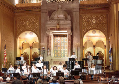 Peace Drums Concert at Congregation Rodeph Shalom