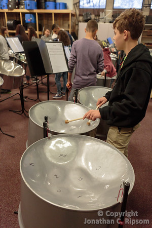 Peace Drums Rehearsal at UD