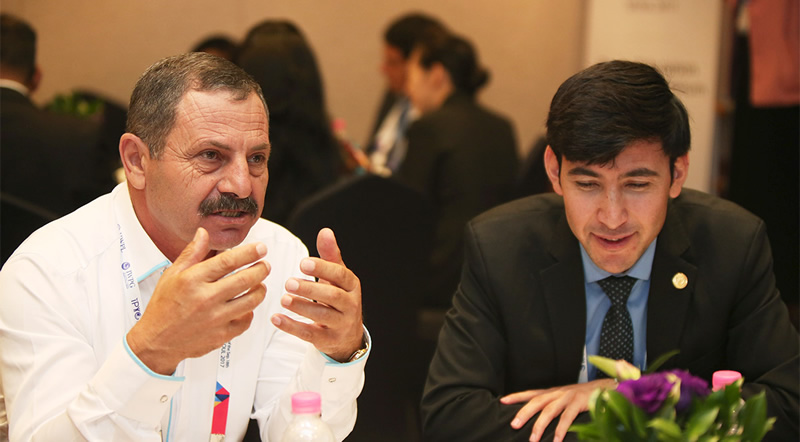 Micha Chacour at World Peace Conference in Seoul, South Korea